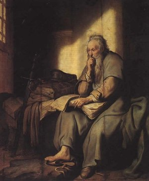 Rembrandt_paul_in_prison